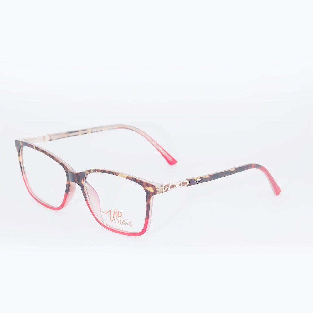 Óculos de Grau Vip Tartaruga Vermelho 17-203