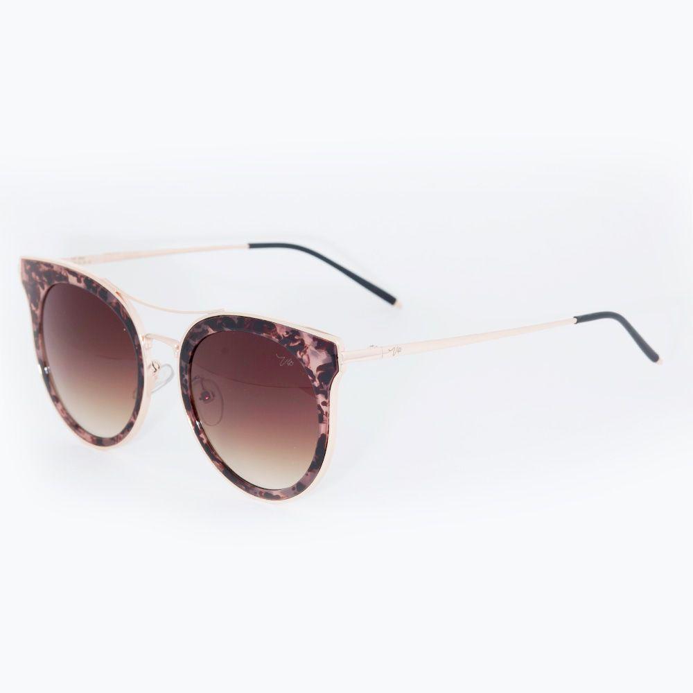 Óculos de Sol Vip Preto 17-1008 - Óticas de Sá 149d8d7817
