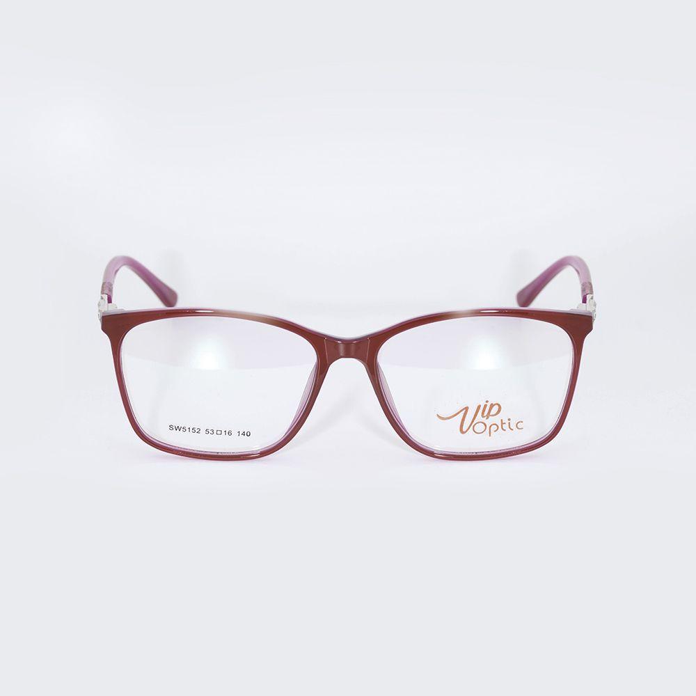 Óculos de Grau Vip Vermelho 17-5152