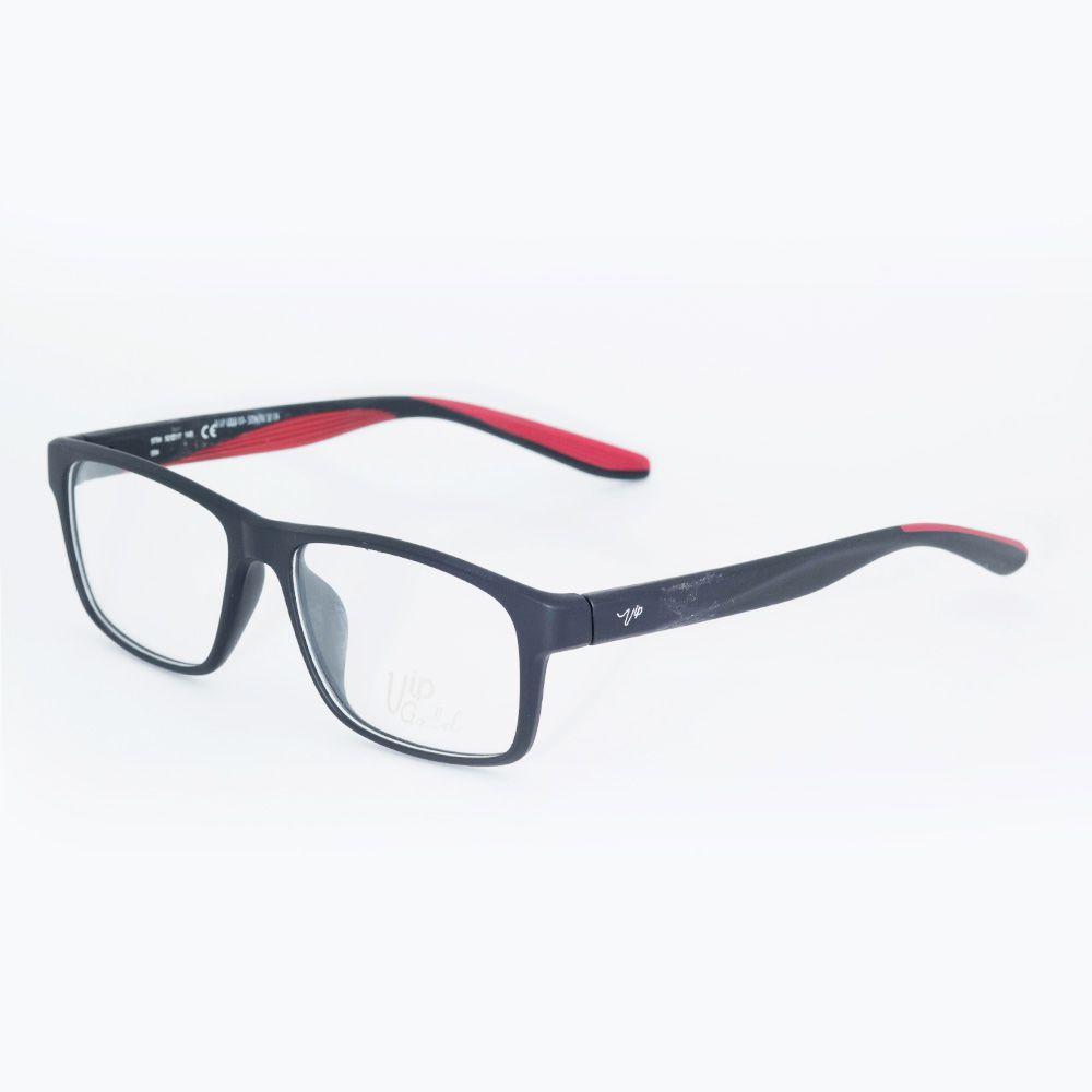 Óculos de Grau Vip Preto Fosco 17-5754 ... a10663d69f