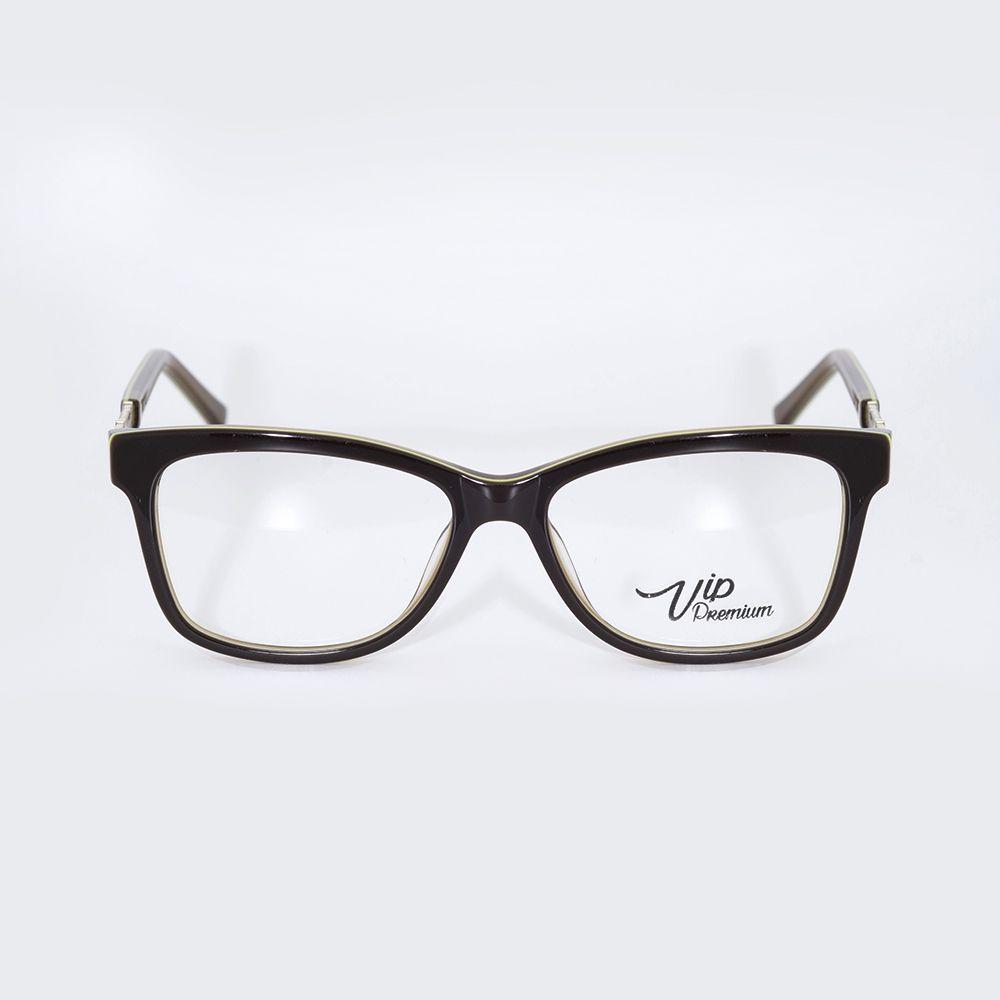 Óculos de Grau Vip Marrom Brilhante 17-8139