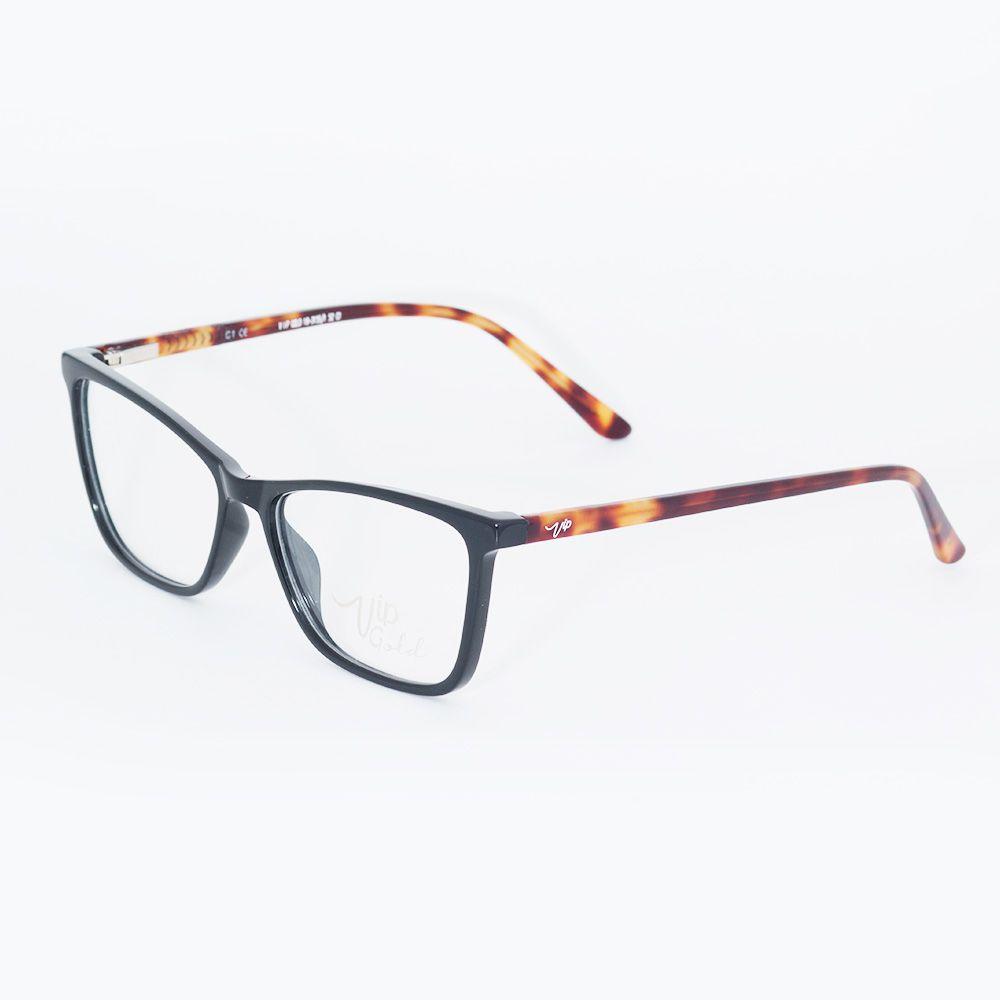 Óculos de Grau Vip Gatinho Preto 18-3155