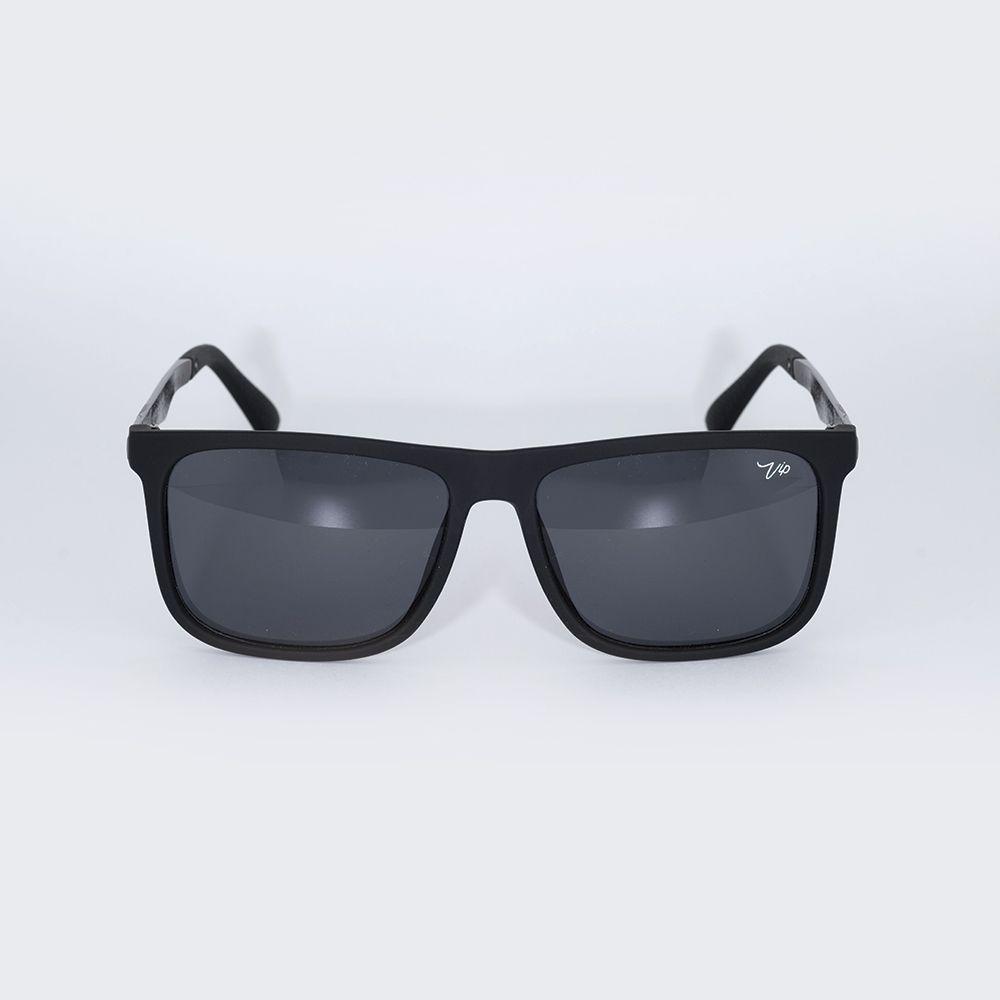 Óculos de Sol Vip Preto Fosco Haste Cinza 17-172018