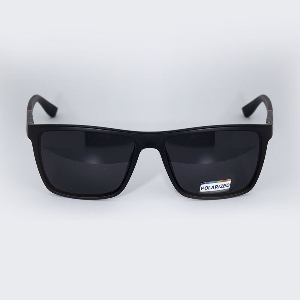 Óculos de Sol Von Dutch Polarizado Preto Fosco 61301