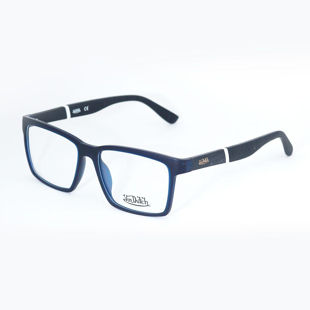 Óculos de Grau Von Dutch Azul Fosco 61308