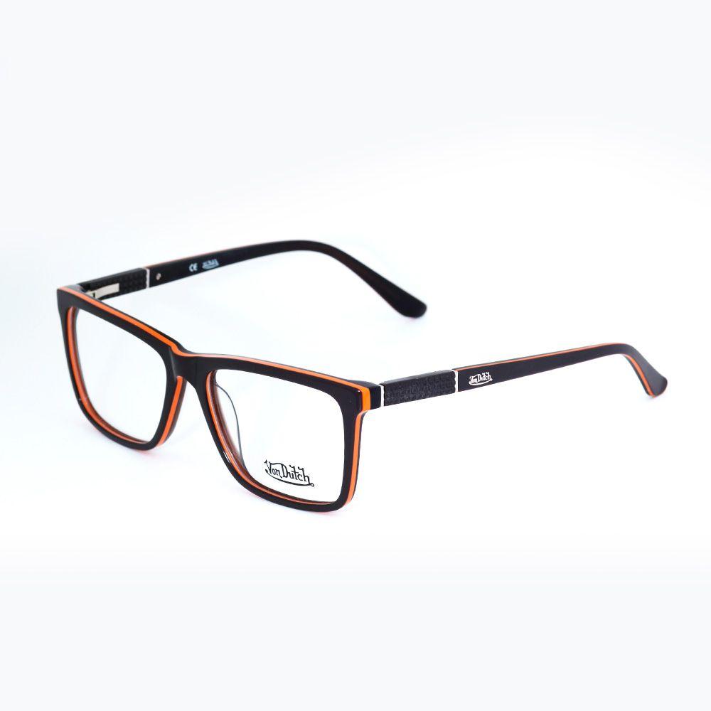 Óculos de Grau Von Dutch Marrom 1935