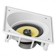 Caixa acústica de embutir para kit angulada JBL CI6SA com cone de Kevlar 6,5