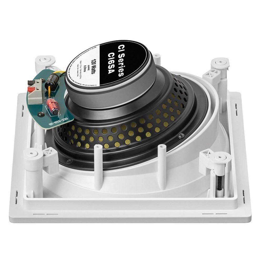 """Caixa acústica de embutir para kit angulada JBL CI6SA com cone de Kevlar 6,5"""" (Unidade)"""