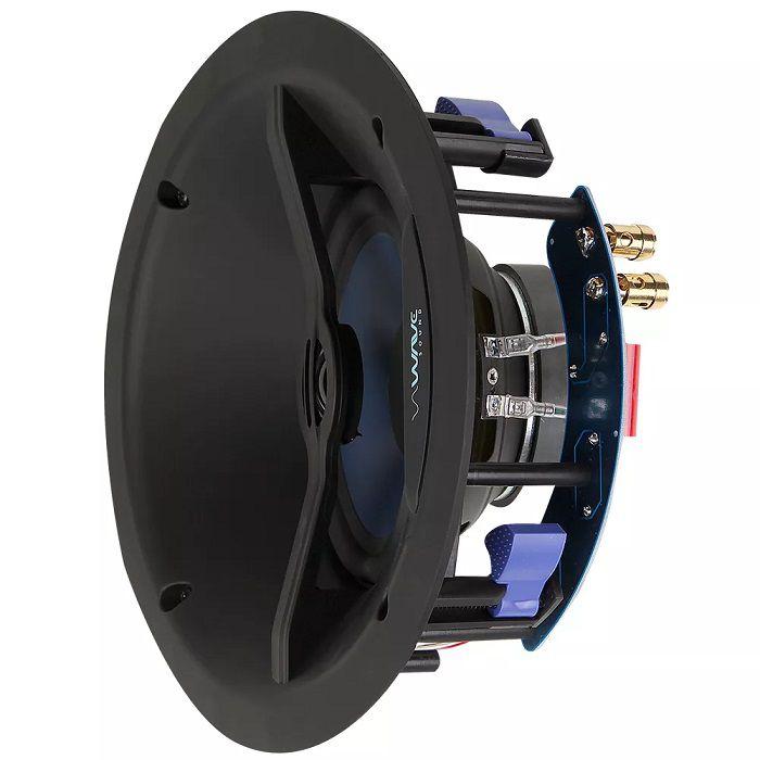 """Caixa acústica de embutir para kit angulada WAVE WIN120 falante de 6,5"""" (Unidade)"""