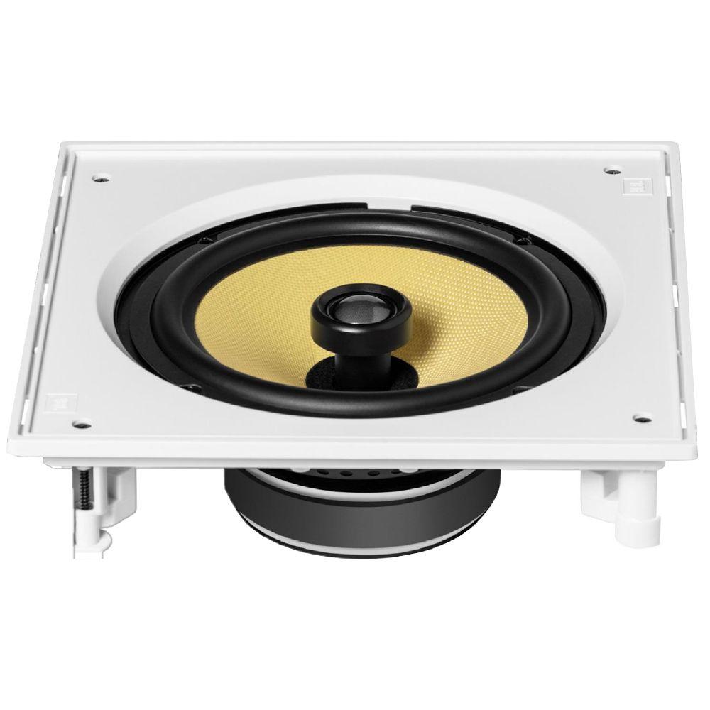 Caixa acústica de embutir quadrada para kit JBL CI8S com cone de Kevlar 8