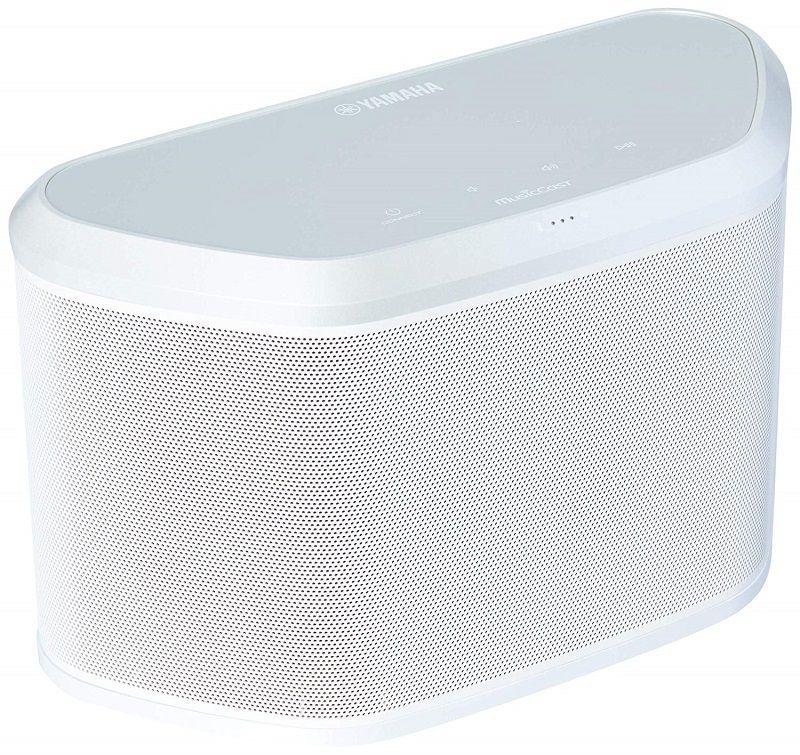 Caixa Yamaha com Music Cast, Bluetooth, Wi-Fi e AirPlay, Yamaha WX-030, Branco