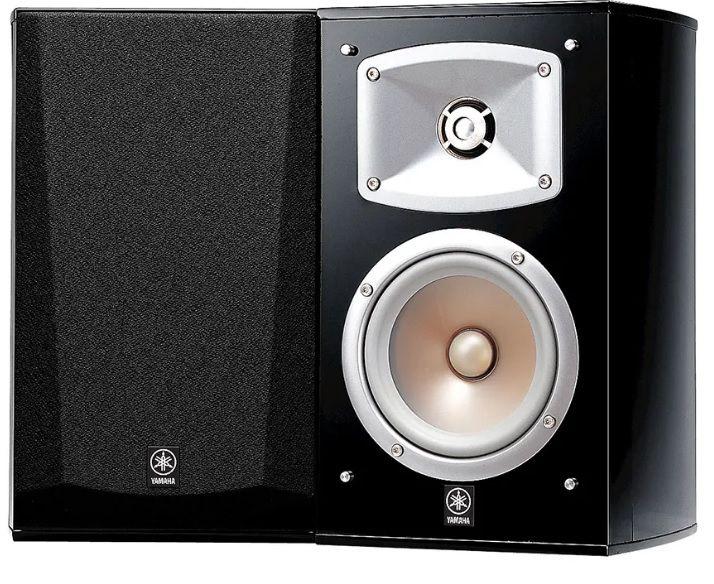 Par de caixas acústicas Yamaha NS-333 preto brilho