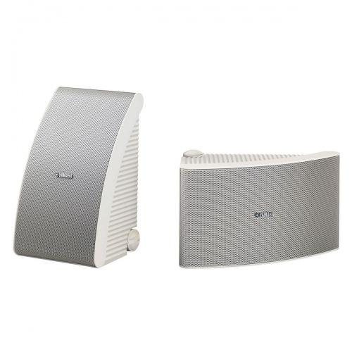 Par de caixas acústicas Yamaha NS-AW992W de 8 polegadas marinizada Brancas