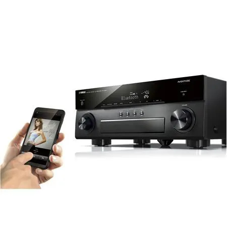 Receiver 7.2ch Yamaha RX-A880 AVENTAGE Dolby Atmos Wifi Spotify Airplay BT 4K UHD Zona 2 - Bivolt