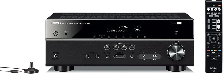 Receiver Yamaha Rx-v385 bluetooth - Bivolt - ( oficial versão S )