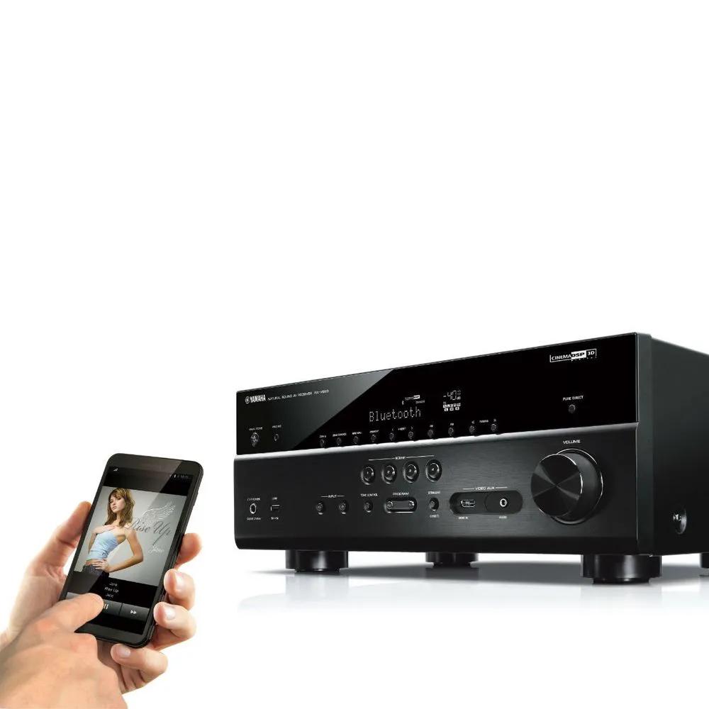 Receiver Yamaha RX-V685 MusicCast - Bivolt - ( oficial versão S )