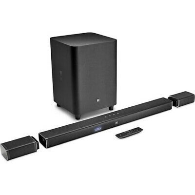 Soundbar JBL Bar 5.1 4K UltraHD com caixas Surround e Subwoofer sem Fio Bivolt
