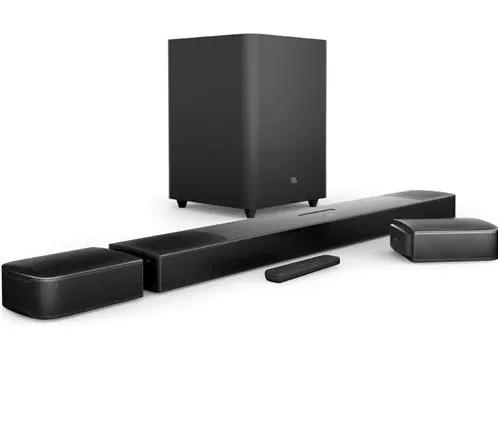 Soundbar JBL Bar 9.1 True Wireless Surround 410W 4K Dolby Atmos Bluetooth - Preto