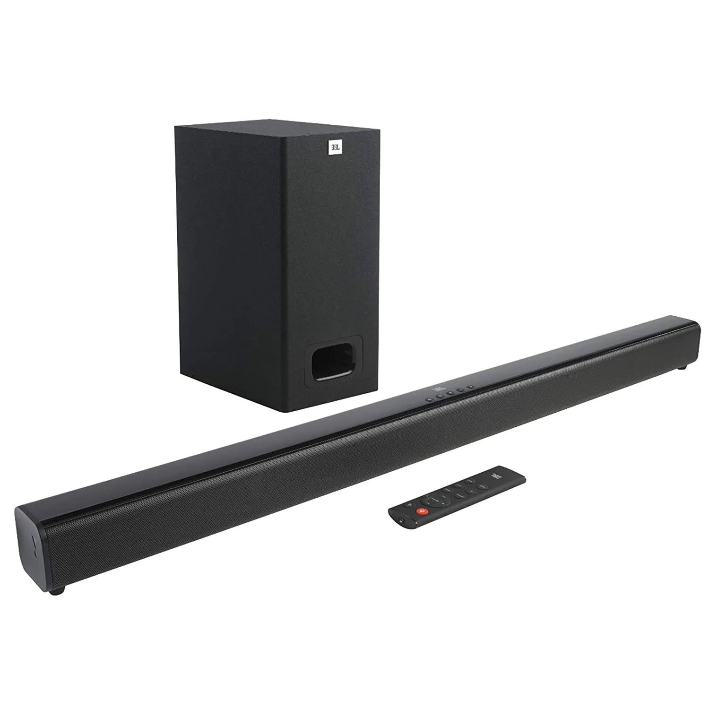 Soundbar JBL Cinema SB130 2.1ch Subwoofer Com Fio Dolby Audio HDMI Bluetooth - Bivolt