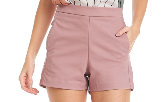 SHORT ALFAIATARIA FECHAMENTO ZIPPER LATERAL
