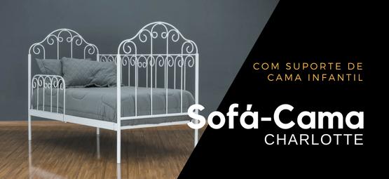 Sofá cama de ferro Londres