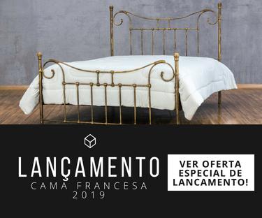 Oferta cama de ferro Francesa
