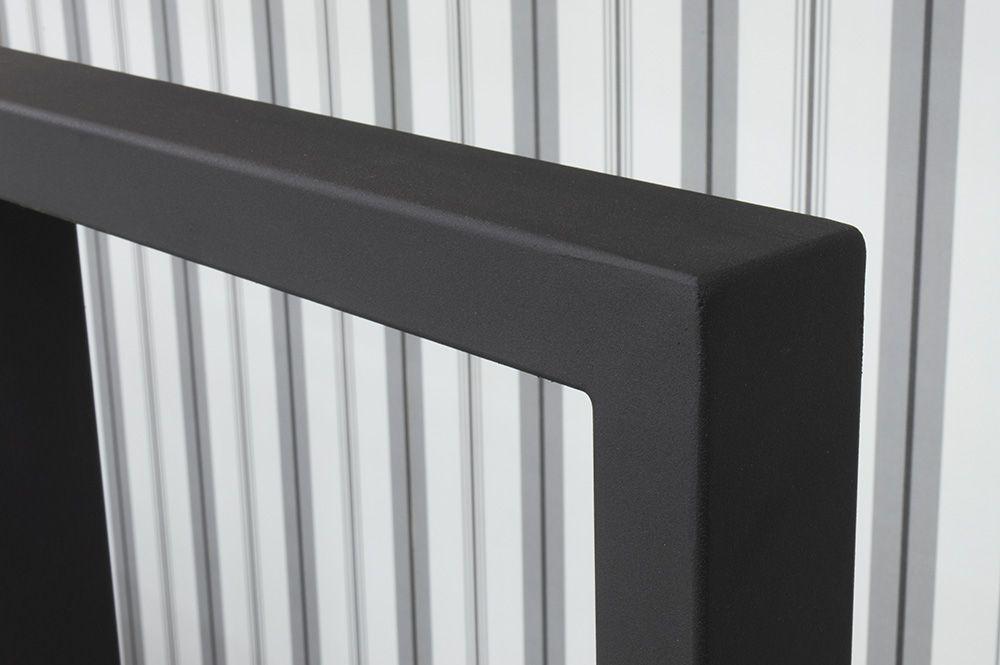 Cabeceira de Ferro Metalon Casal - Preto fosco