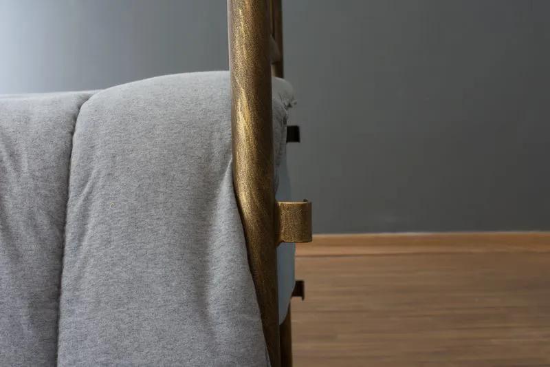 Cabeceira de Ferro Sensação para cama de Casal - Fixação na parede
