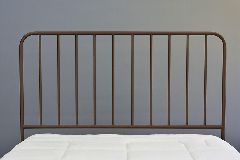 Cabeceira de Ferro Vintage Casal - Fixação de parede