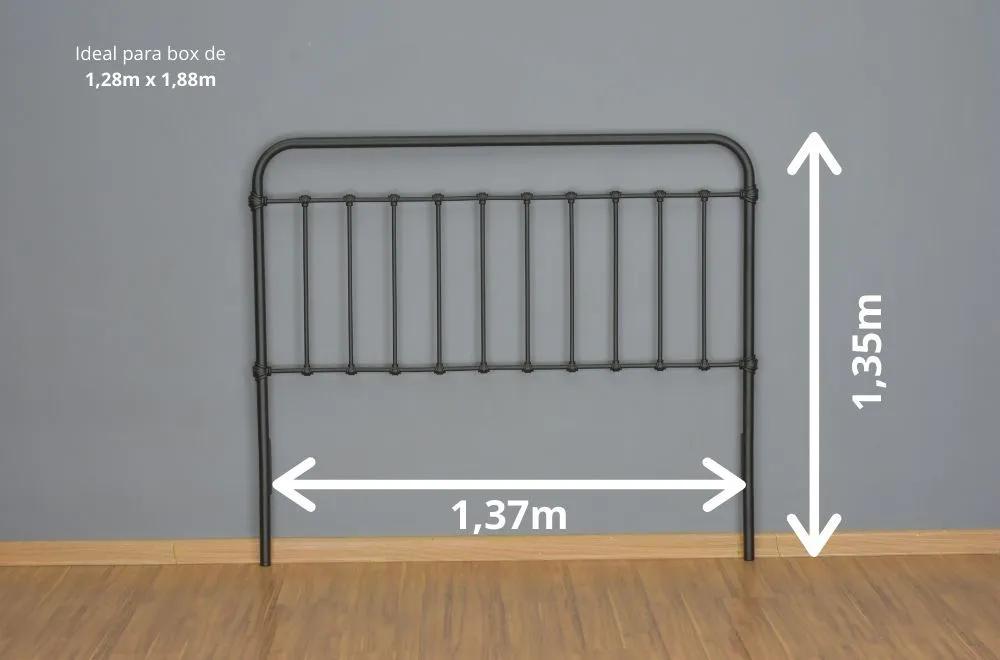 Cabeceira Patente Viúva - Fixação na parede