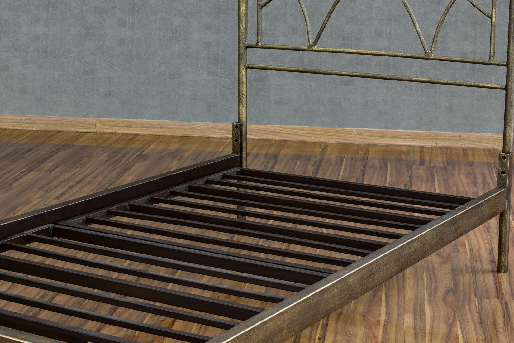 Cama de ferro Arábia Solteiro - sem peseira