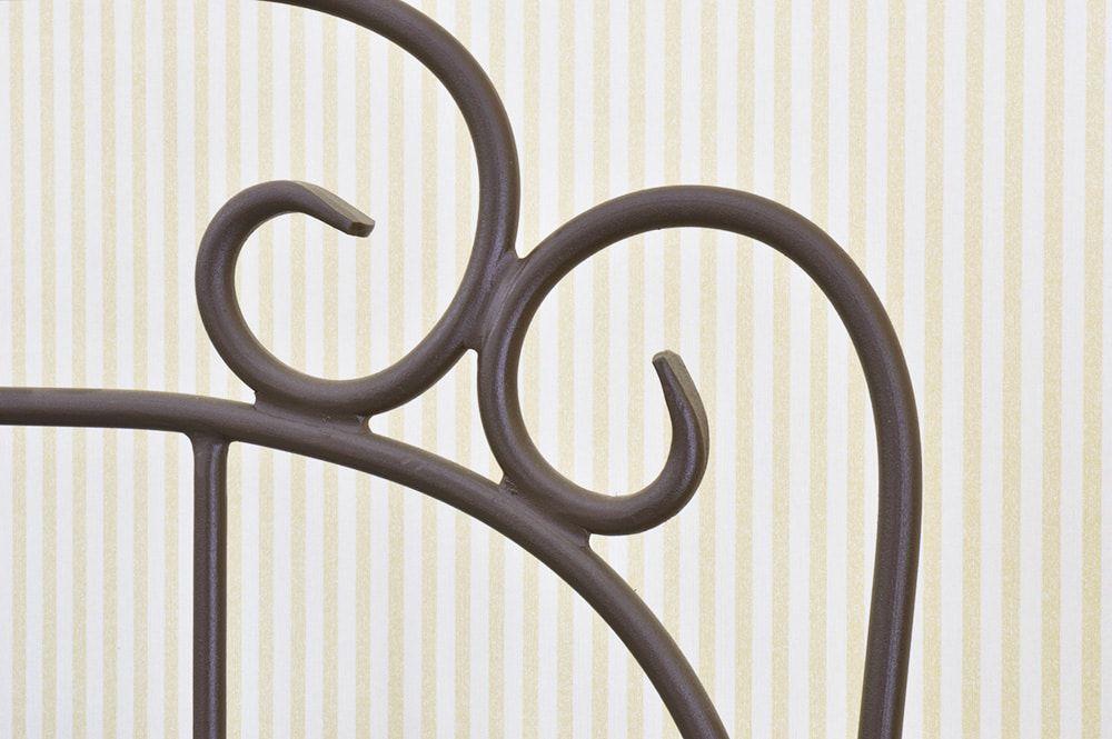 Cama de Ferro Forjado Romance Viúva - Sem Peseira