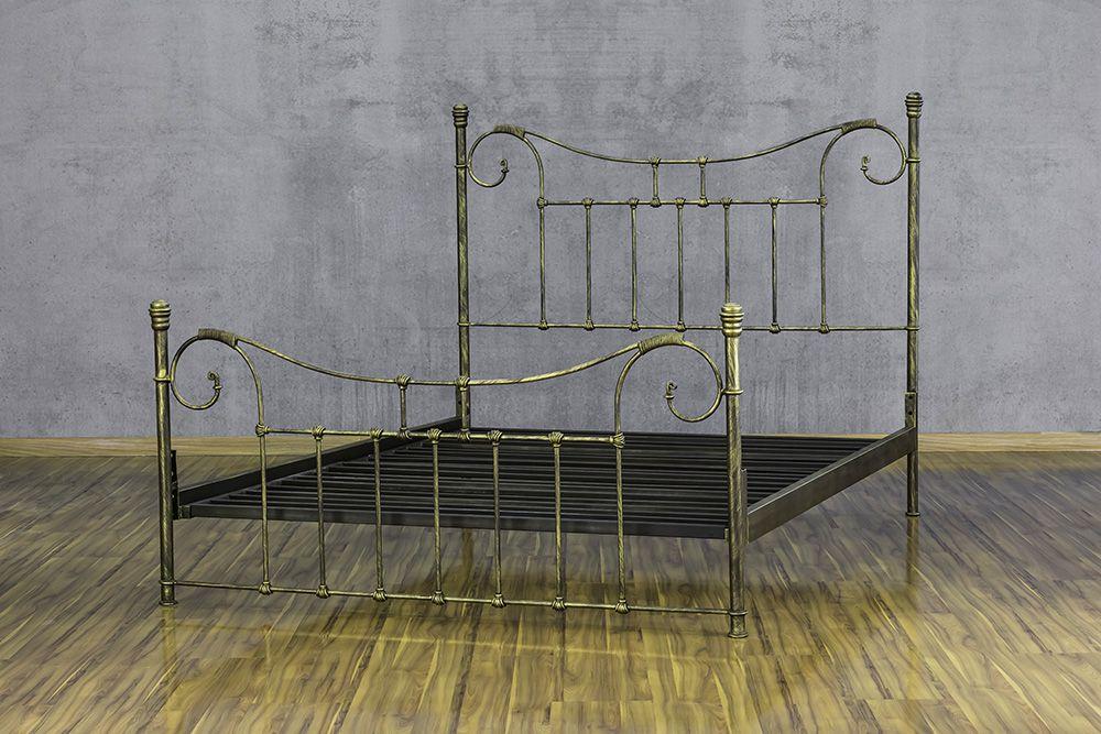 Cama de Ferro Francesa - King Size
