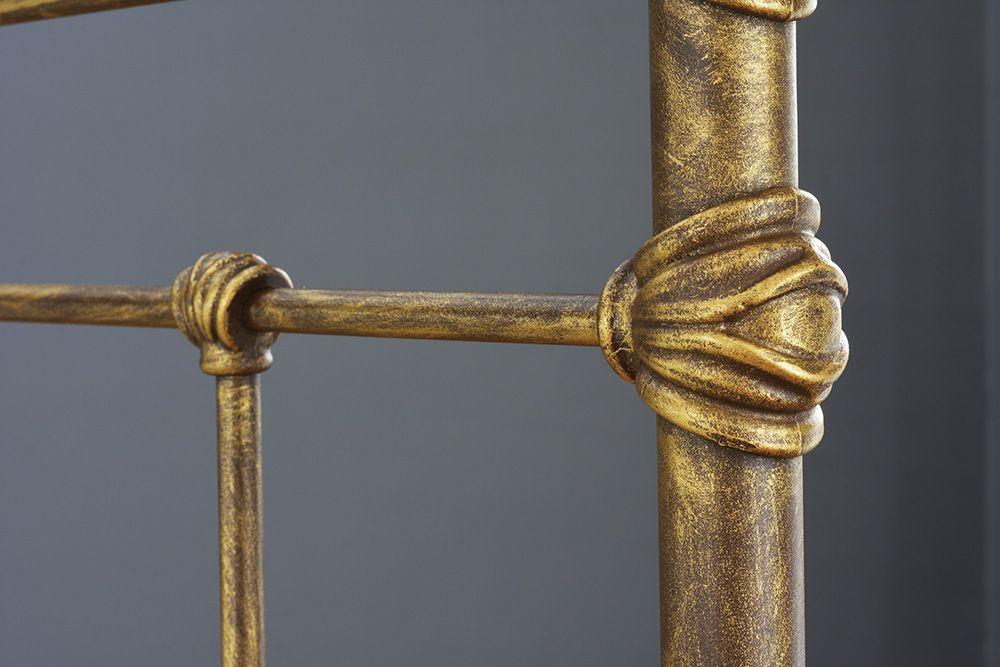 Cama de Ferro Luísa Casal - Sem desenho da peseira - Pátina Envelhecido