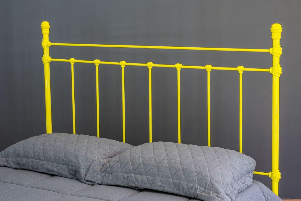 Cama de Ferro Luísa Viúva Amarela