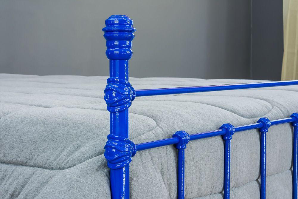 Cama de Ferro Luísa Viúva Azul