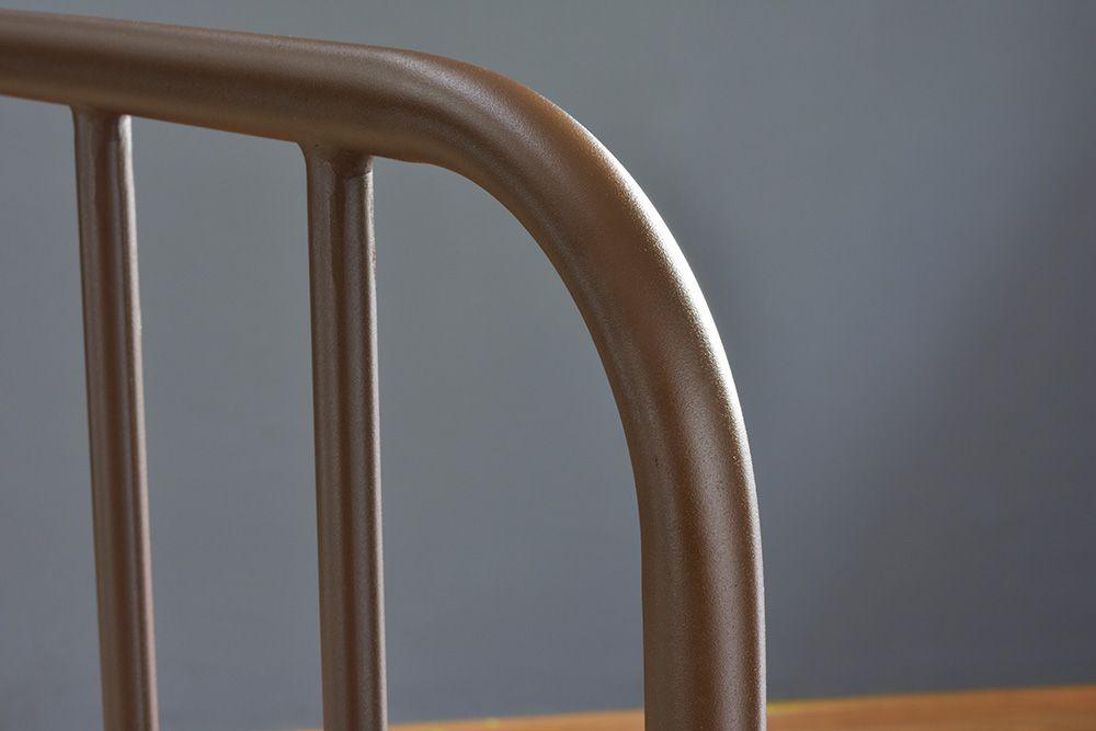 Cama de Ferro Vintage Casal Comum - Sem Peseira
