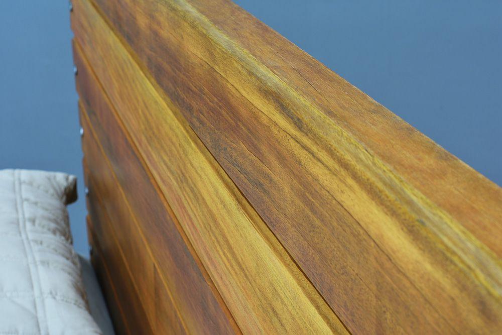 Cama de Madeira Maciça Wood - Queen