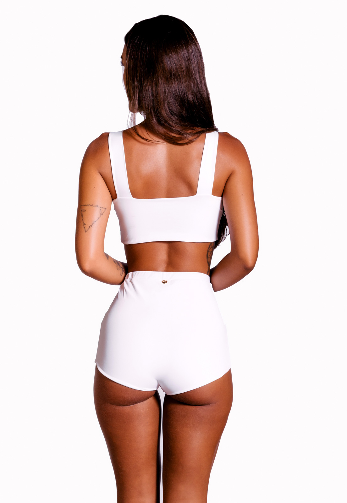 Biquíni Hot Pant Branco