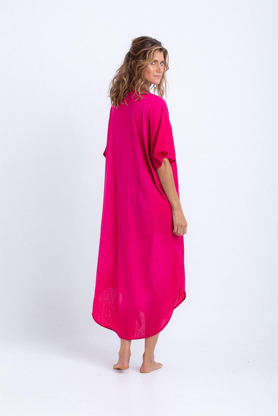Caftan Gisele Longo Pink