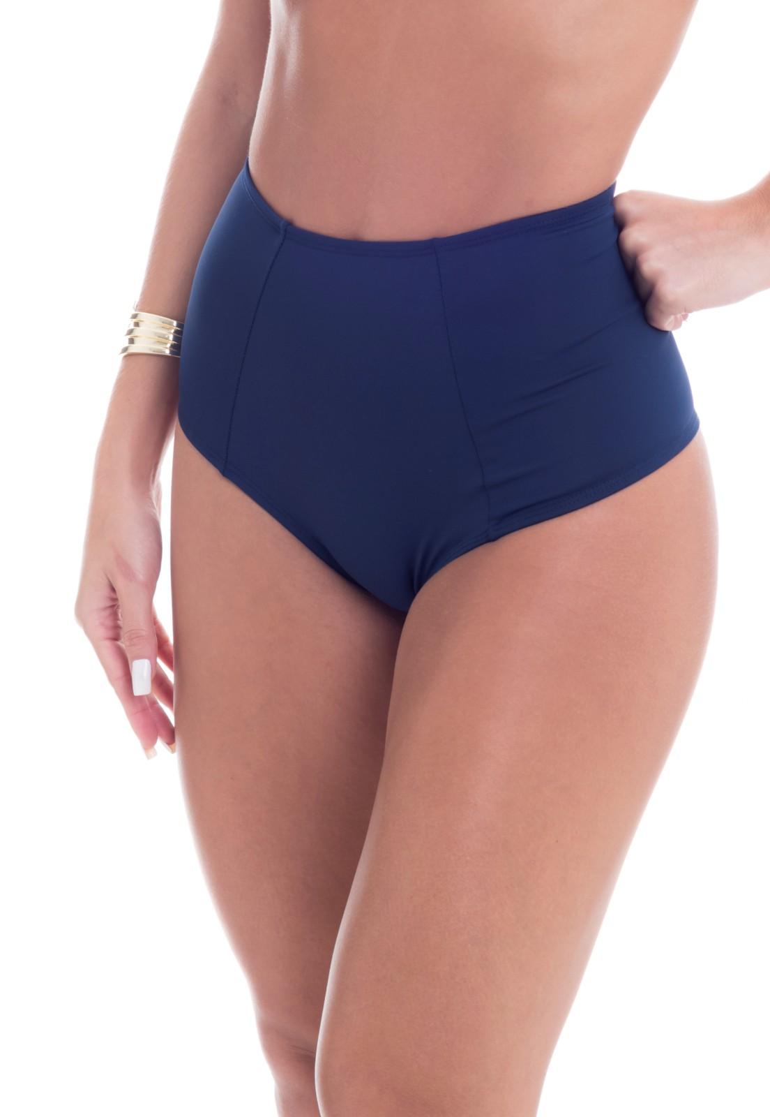 Tanga Hot Pant Azul Marinho