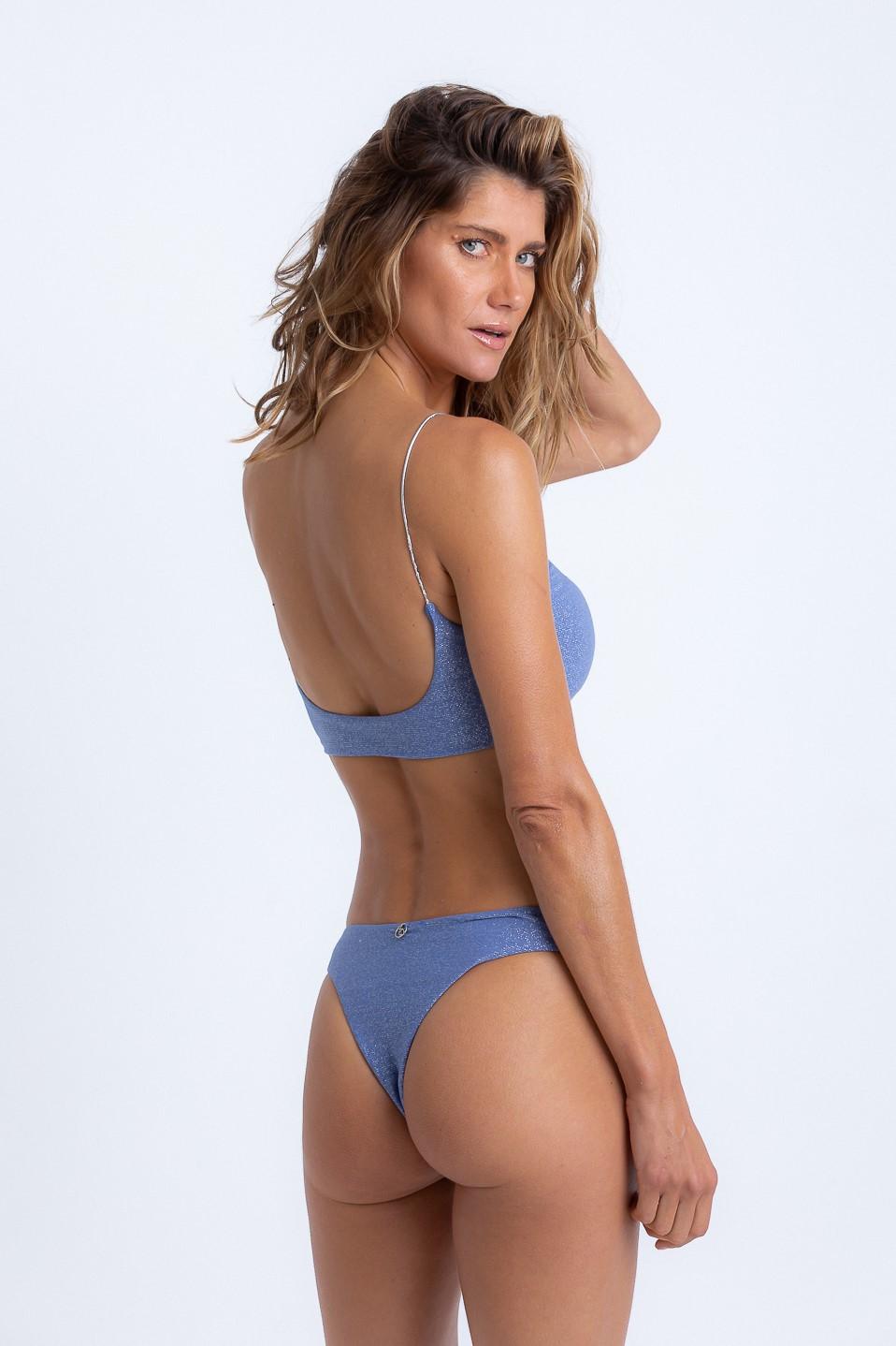 Top Júlia Lurex Jeans