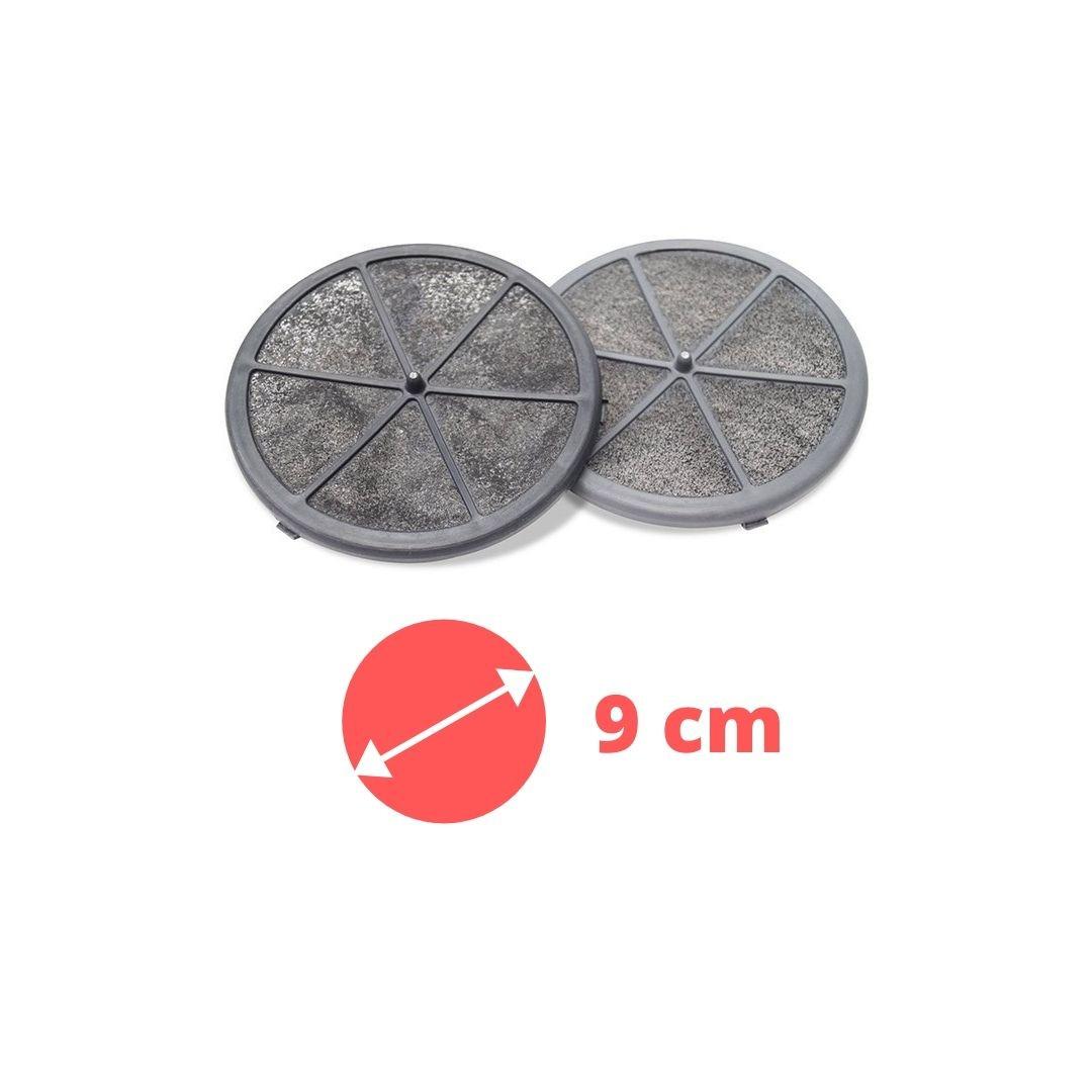 02 Filtro de Carvão Depurador Suggar