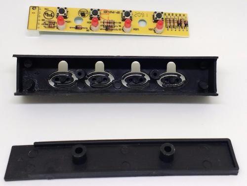Caixa Chave De Comando Placa Botões Coifa Fischer  - HL SERVICE