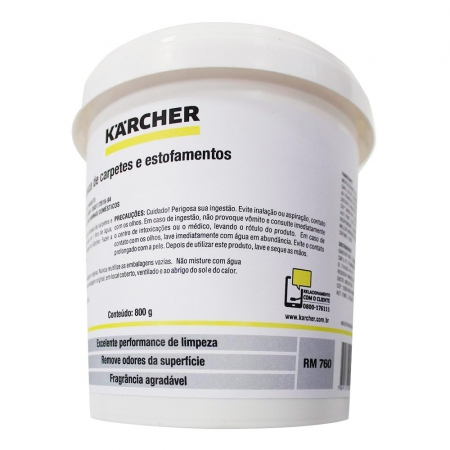Detergente para Extratora 800G - RM 760 - KARCHER - 93811710