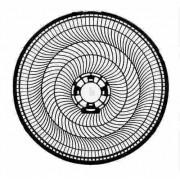 Grade Traseira Ventilador Cadence 40cm Eros Vtr