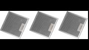 Kit 03 Filtros Alumínio Coifa Onix Suggar 27,8 x 36,3 cm