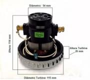 MOTOR ASPIRADOR ELECTROLUX BPS 1S 220V (64503052) 800W