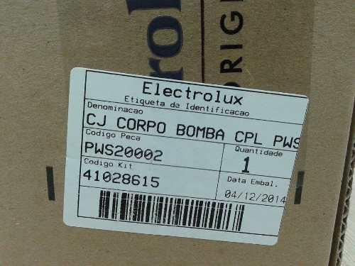 Corpo Da Bomba Lava Jato Electrolux Pws20  - HL SERVICE