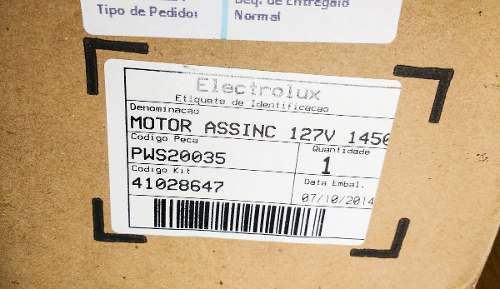 Motor Lava Jato Electrolux Pws20 127v  - HL SERVICE